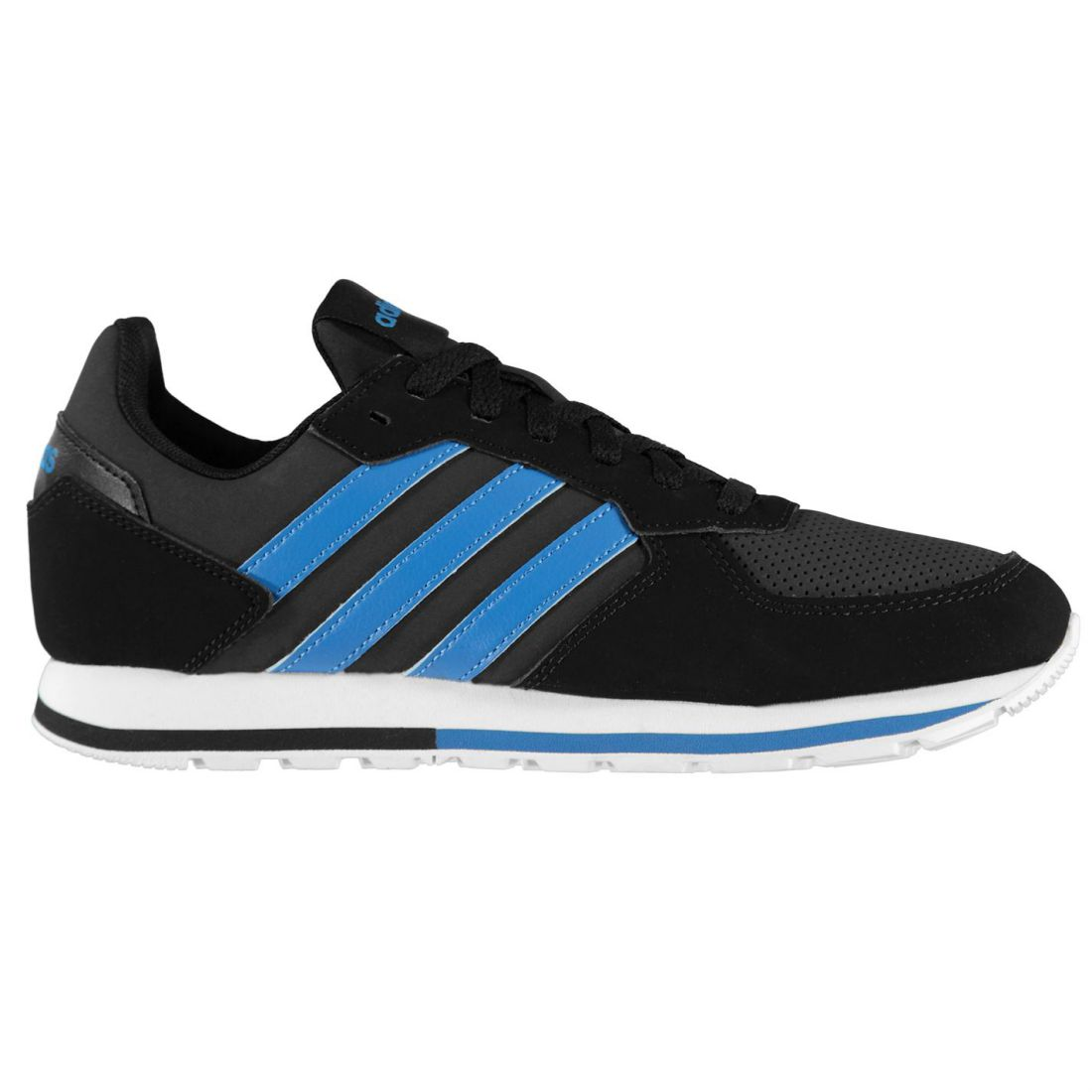 1cd61cd0807d04 ... Adidas 8K Nubuck Turnschuhe Mens Gents Runners Laces Fastened Padded  Padded Padded Ankle Collar c649ef ...