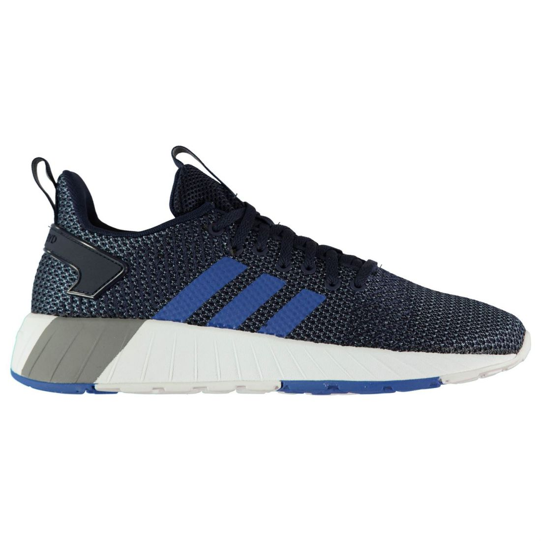 half off 72193 b7187 adidas Questar BYD 82 Sneakers Mens Gents Runners Laces Fastened Mesh Upper  2 2 di 5 ...
