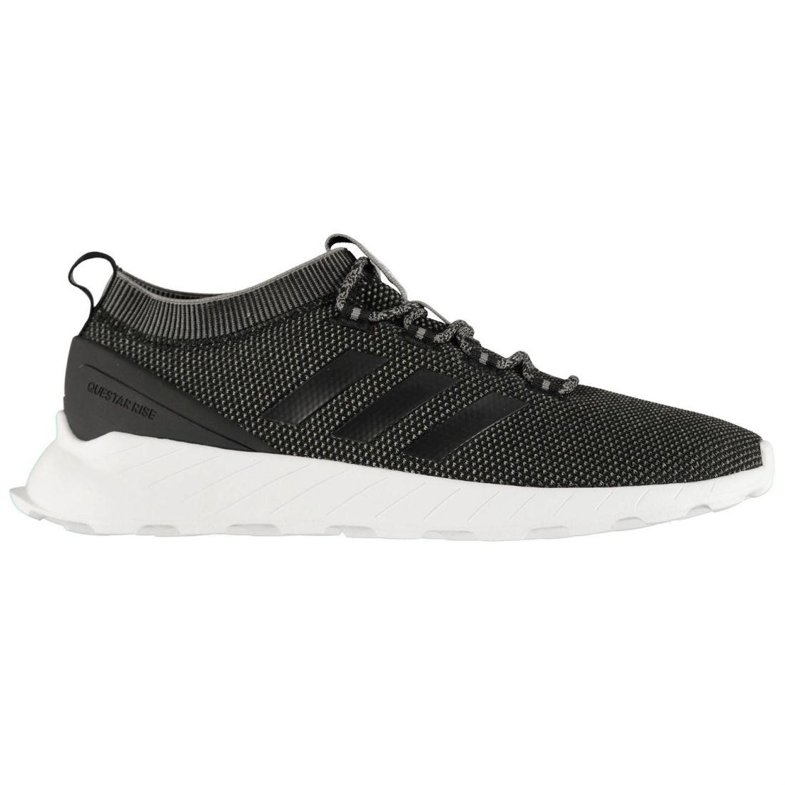 Adidas Questar Rise Sneakers Mens Gents Runners Laces Fastened Ventilated