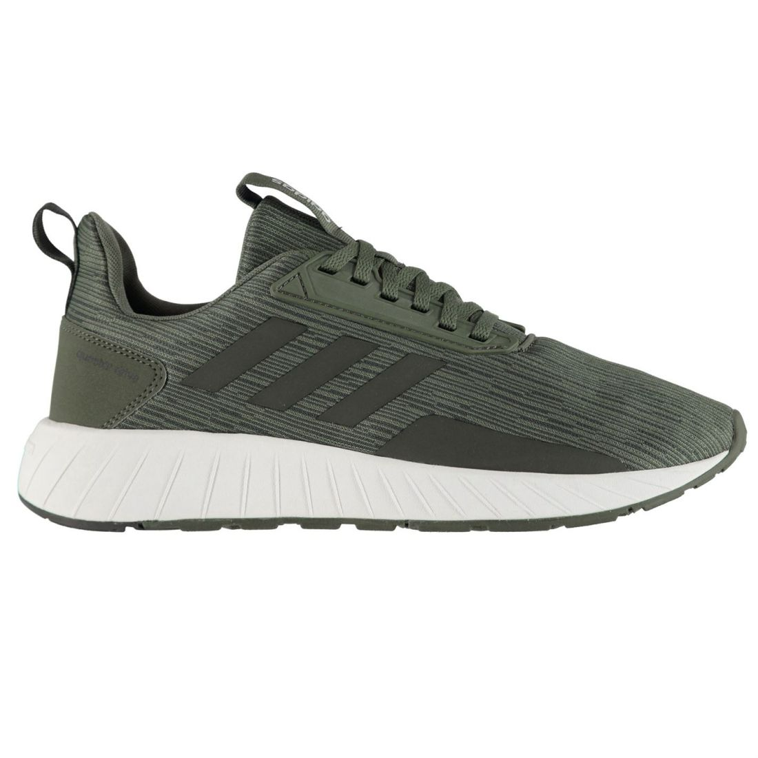Adidas Mens Questar Drive Trainers Runners Lace Up Padded Ankle Collar Stripe