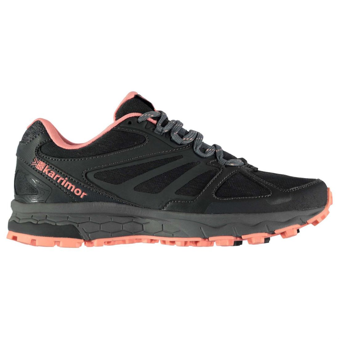 ed8301e1e209f Karrimor Womens Tempo 5 Trail Running Shoes Lace Up Breathable Padded Ankle
