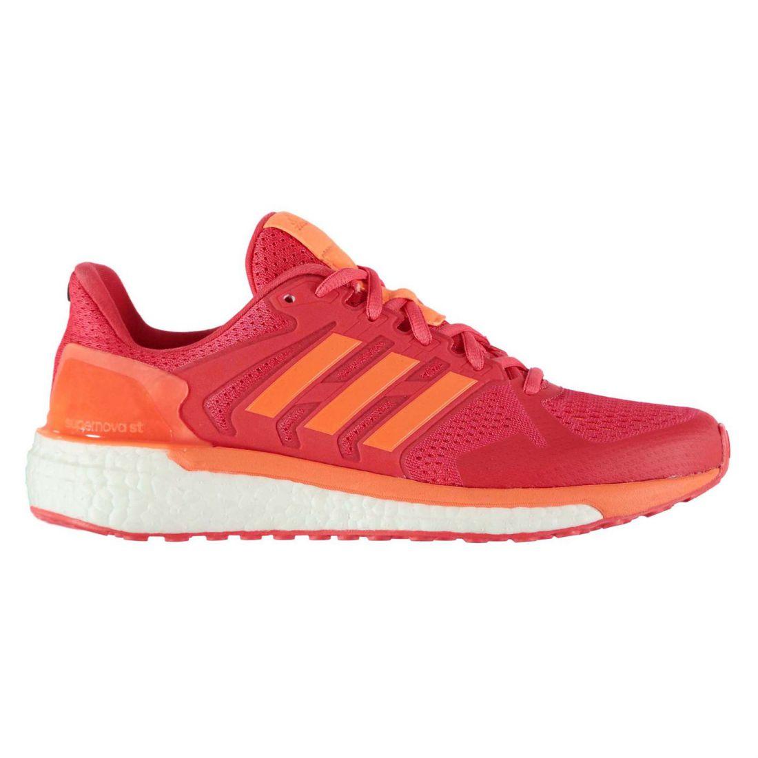 premium selection d2a93 3edaa Image is loading adidas-Womens-Supernova-ST-Running-Shoes-Road-Mesh-