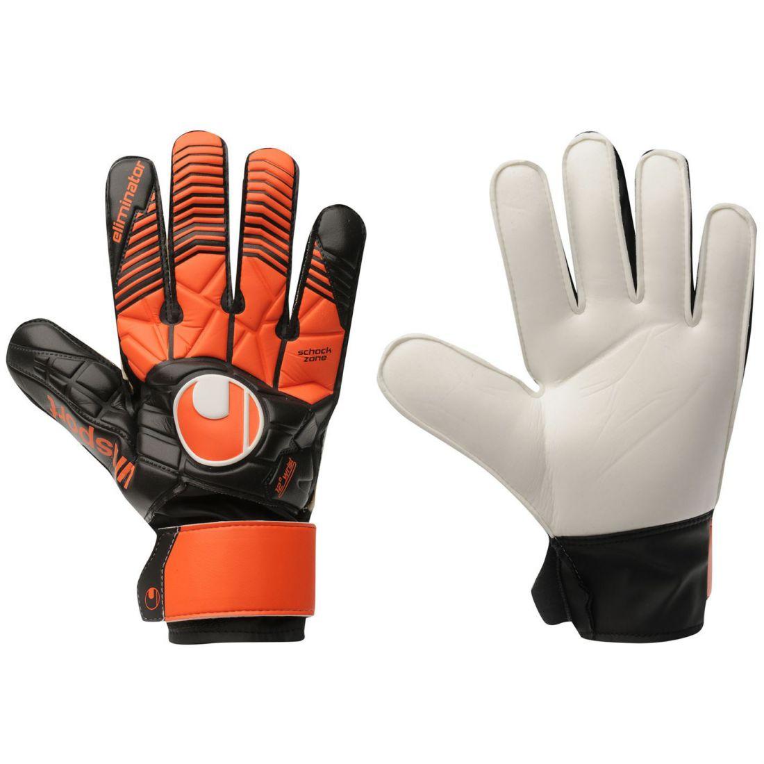 Uhlsport Eliminator Soft Advanced Goalkeeper Gloves Mens Gents Sport d1df41ce6