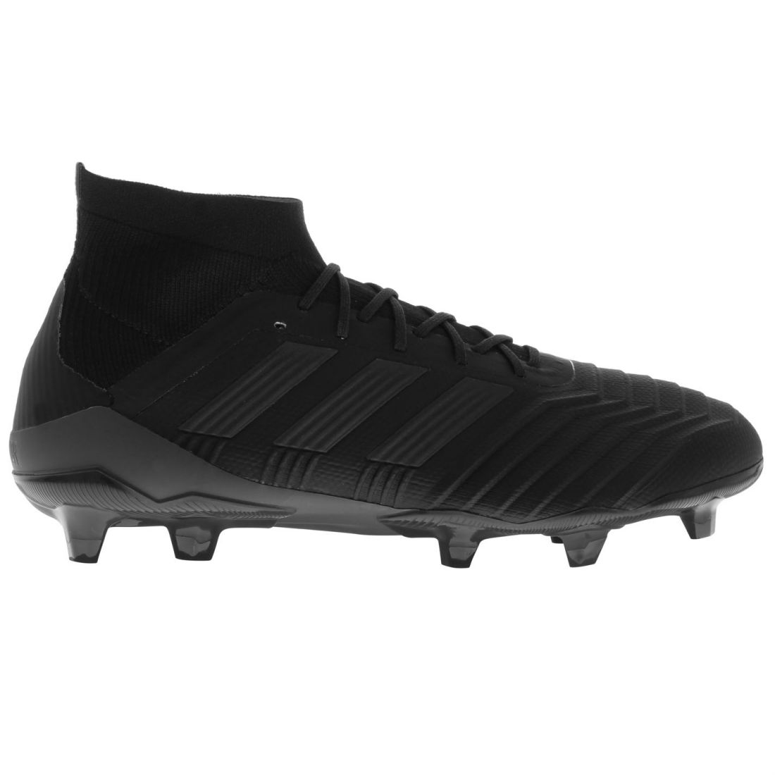 f57ba630be61 adidas Mens Predator 18.1 FG Football Boots Firm Ground Lace Up Studs Knit