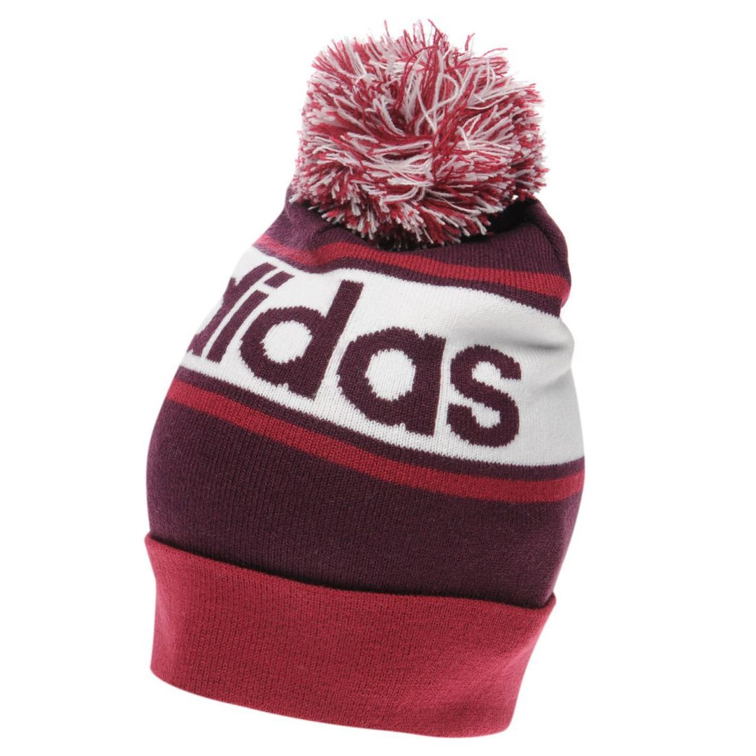 f9d815f1241 Image is loading adidas-Mens-Linear-Woolie-Hat-Beanie-Pattern-Stripe-