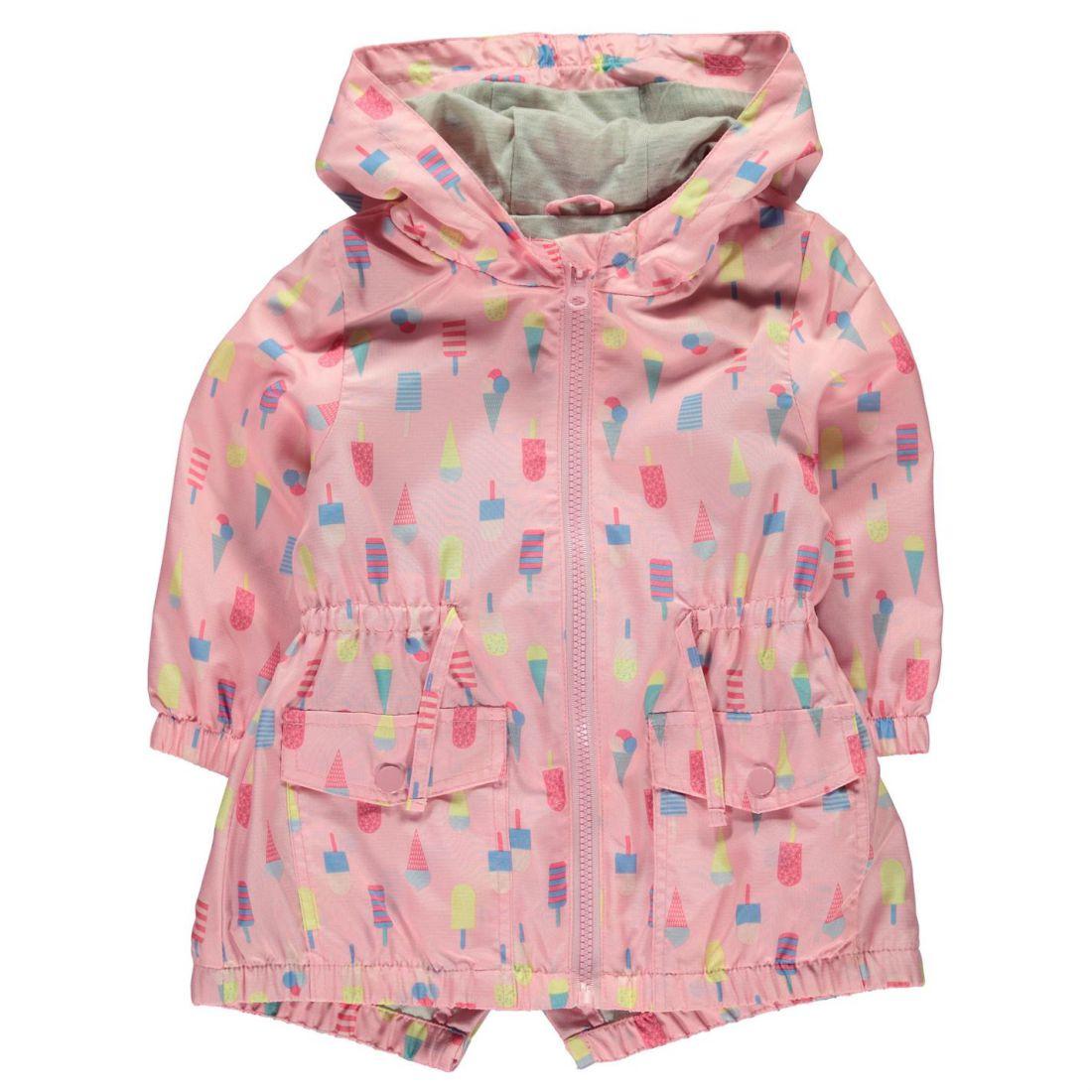 5e53f556e Crafted Kids Girls Rain Mac Child Jacket Coat Top Lightweight Hooded ...