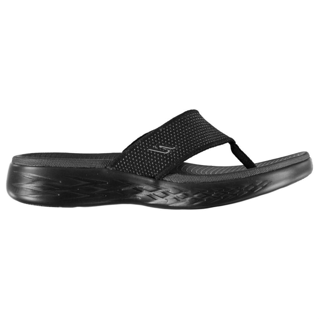 ca821e69c Details about Skechers Mens On The Go 600 Sliders Flip Flops Lightweight  Strap Toe Post