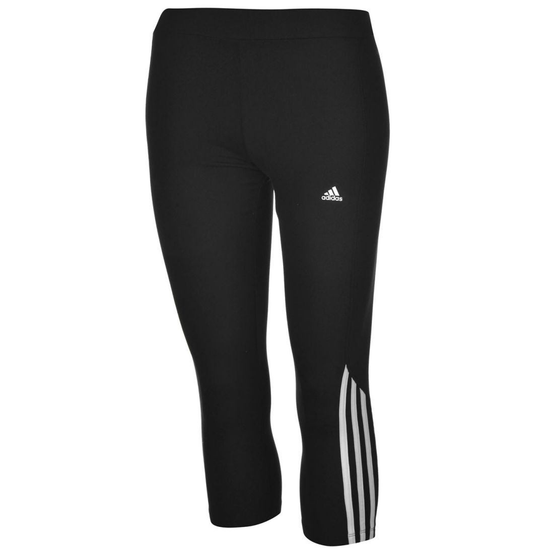 Image is loading adidas-Womens-Ladies-Quest-Three-Quarter-Running-Tights- ffcc97d01024