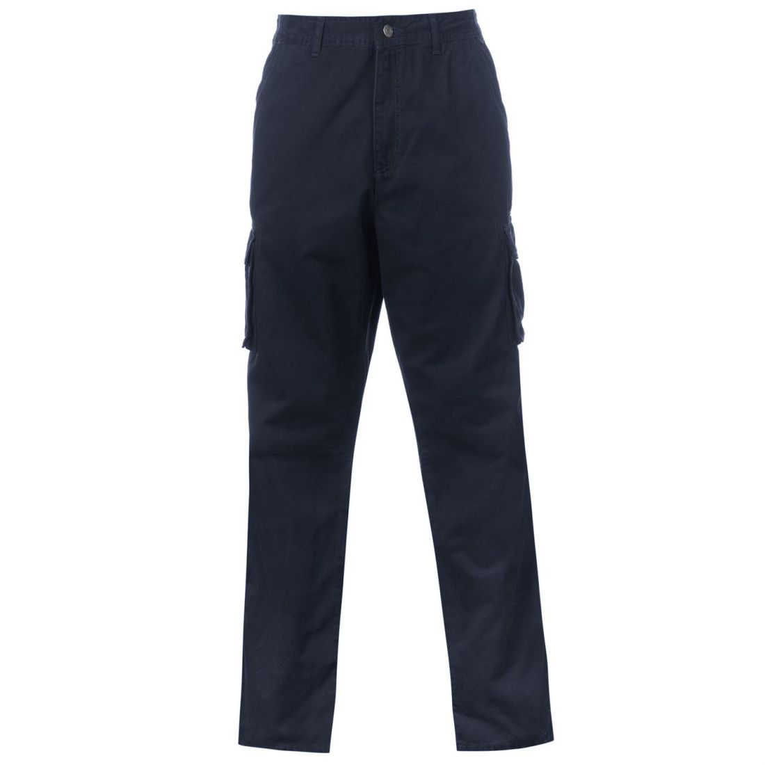 9695d76480 Full Blue Cargo Trousers Mens Gents Pants Bottoms Cotton Zip | eBay