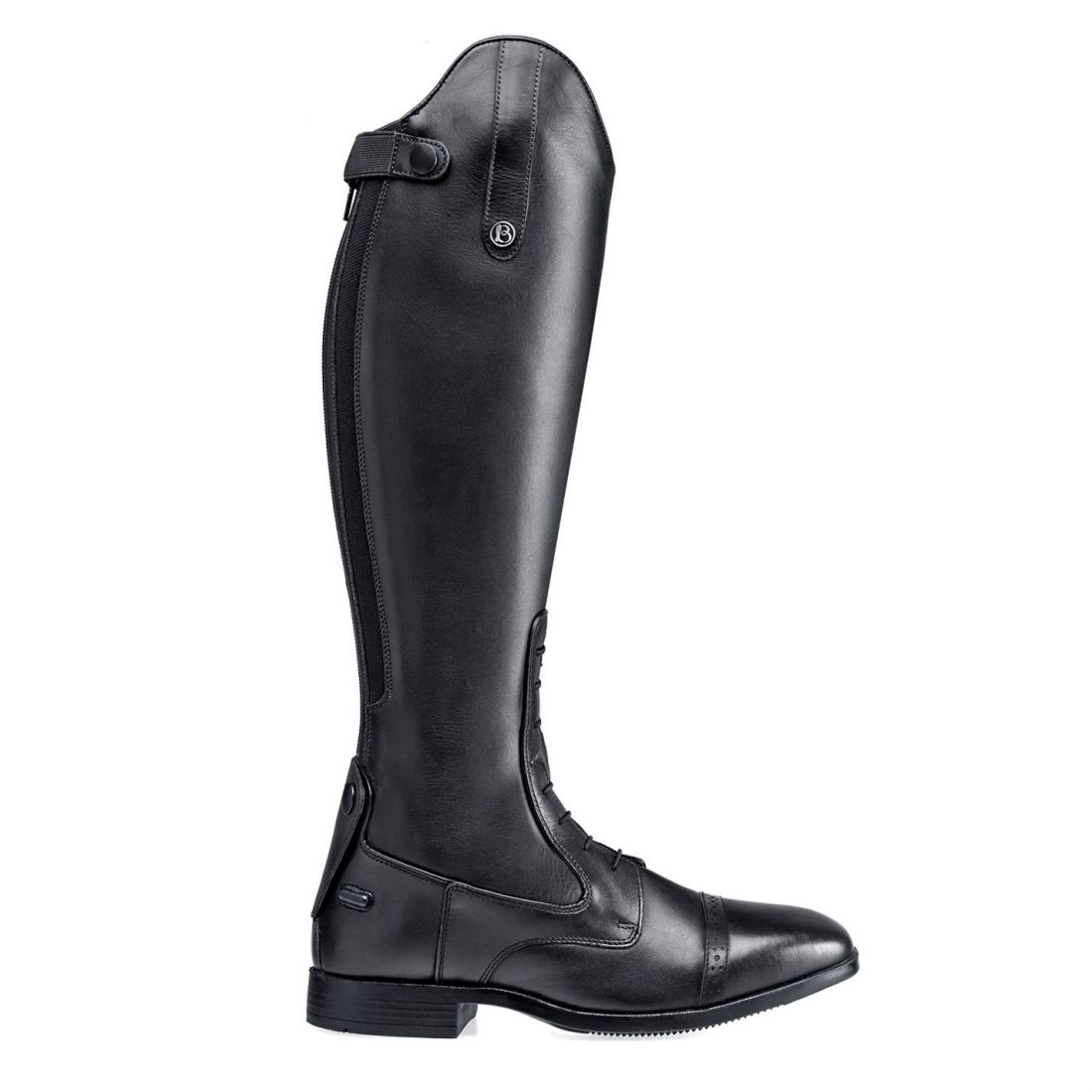 Brogini Womens Capitoli V2 Laced Riding Boots Long Zip Zip Zip Flat Everyday Brogue 936728