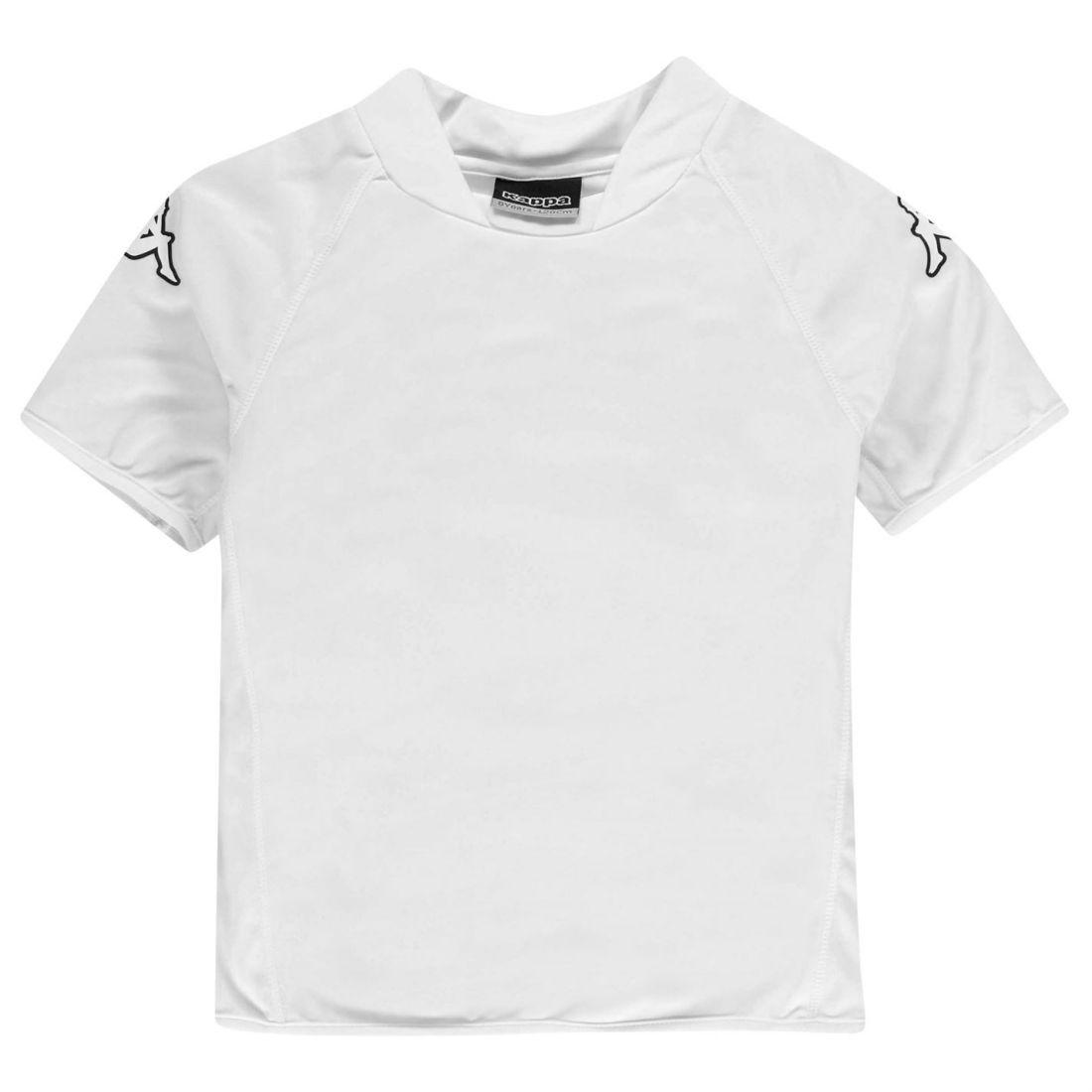 1dcc0a576278 Kappa Kids Masa Short Sleeve T Shirt Tee Top Junior Boys ...