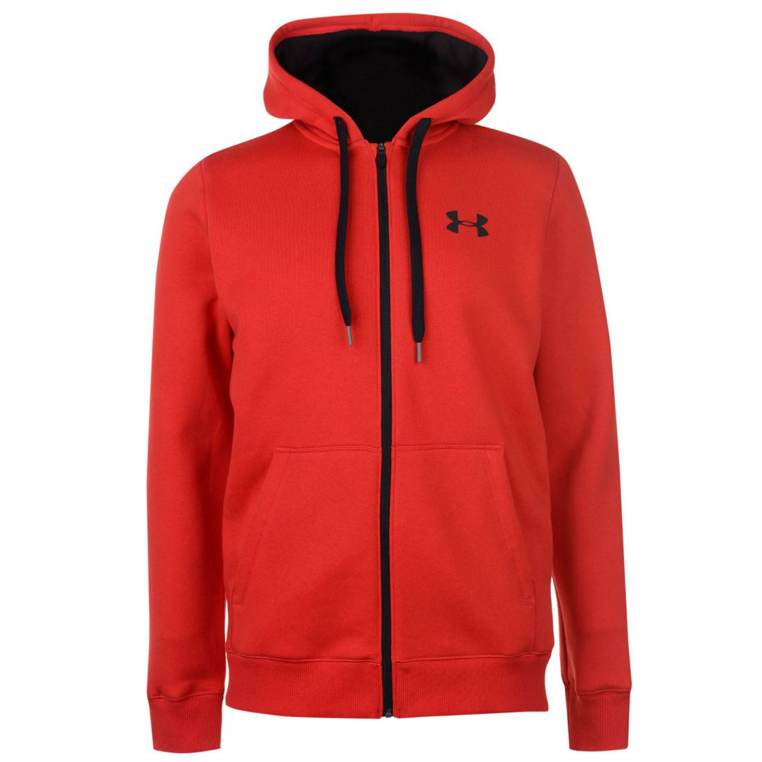 Under-Armour-Mens-Rival-Fitted-Full-Zip-Hoody-Hoodie-Hooded-Top-Breathable-Mesh thumbnail 10