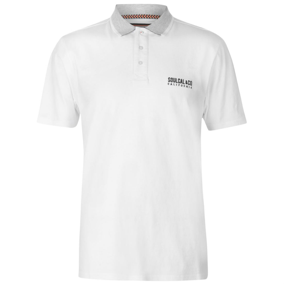 b67c741d7ef Image is loading Mens-SoulCal-Signature-Polo-Shirt-Classic-Fit-Short-