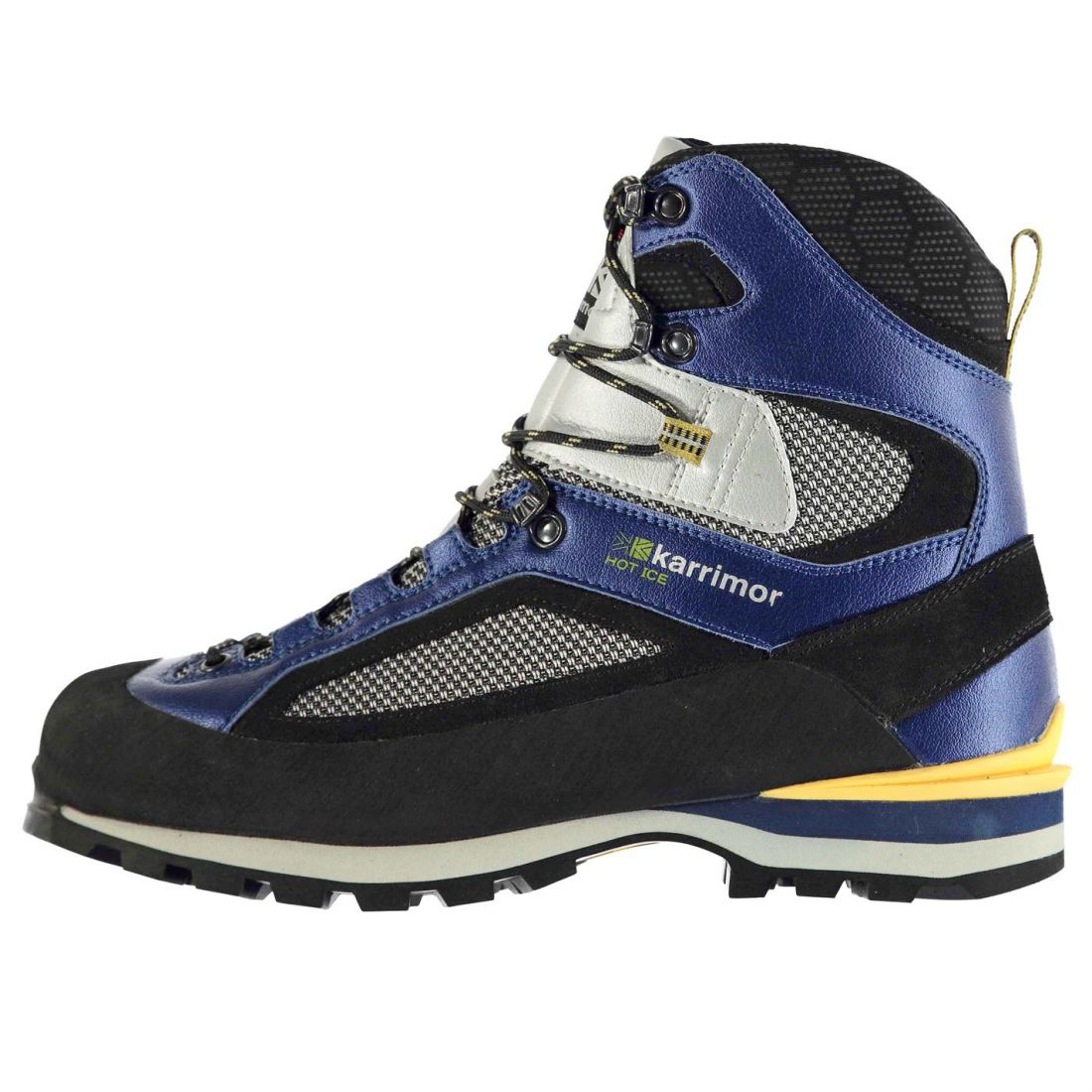 Karrimor Mens Hot Ice Mountain Boots Lace Up Vibram Textile Waterproof shoes