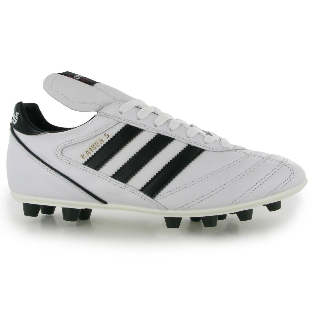 82a56e1db123 adidas Mens Gents Kaiser Liga FG Football Boots Laces Fastened Shoes  Footwear