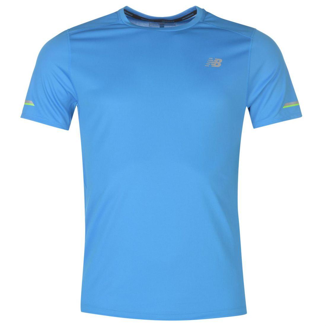 30a7c2bd29cb3 Image is loading New-Balance-Ice-Tee-Short-Sleeve-Performance-Shirt-