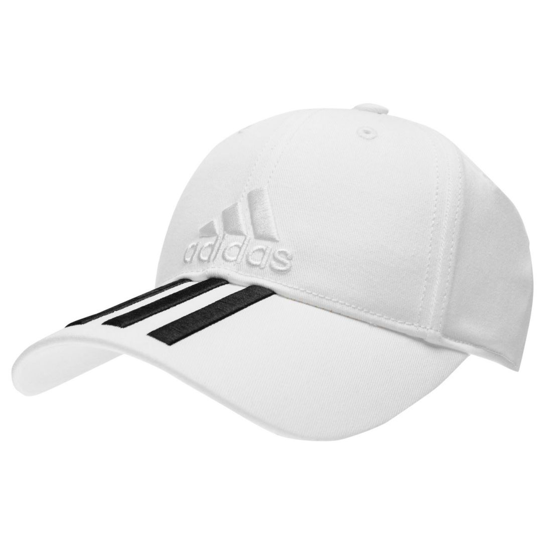adidas Children s Leisure Cappy 6 Panel Classic Cap 3 Stripes Cotton ... f936e2b6b36d