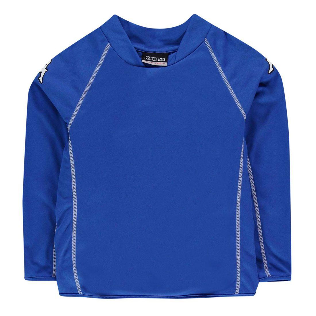 b9a9c6aef786 Kappa Kids Masa Long Sleeve T Shirt Tee Top Junior Boys Football ...