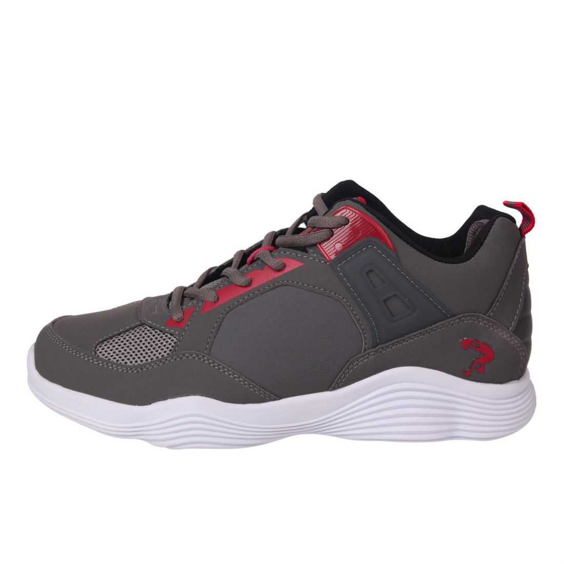 brand new 9b2a8 2eb56 Image is loading SHAQ-Mens-Diversion-Basketball-Trainers-Shoes-Lace-Up-