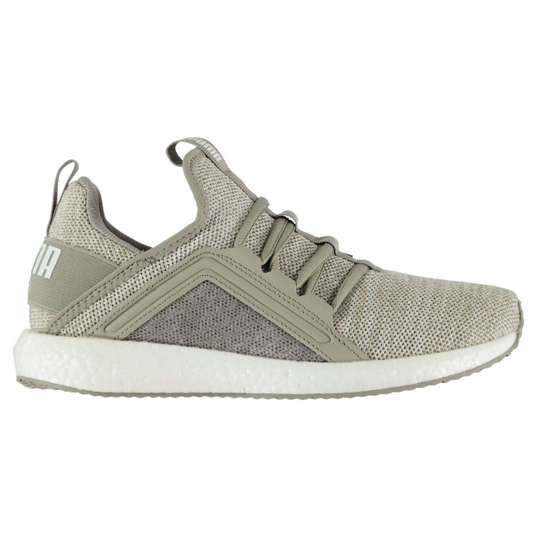 Puma Womens Mega NRGY Knit Trainers Runners Lace Up Padded Ankle ... 004f93aa9