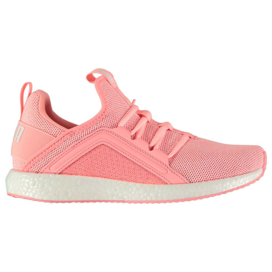 Details about Puma Womens Mega NRGY Knit Trainers Runners Lace Up Padded  Ankle Collar 1c7eee387