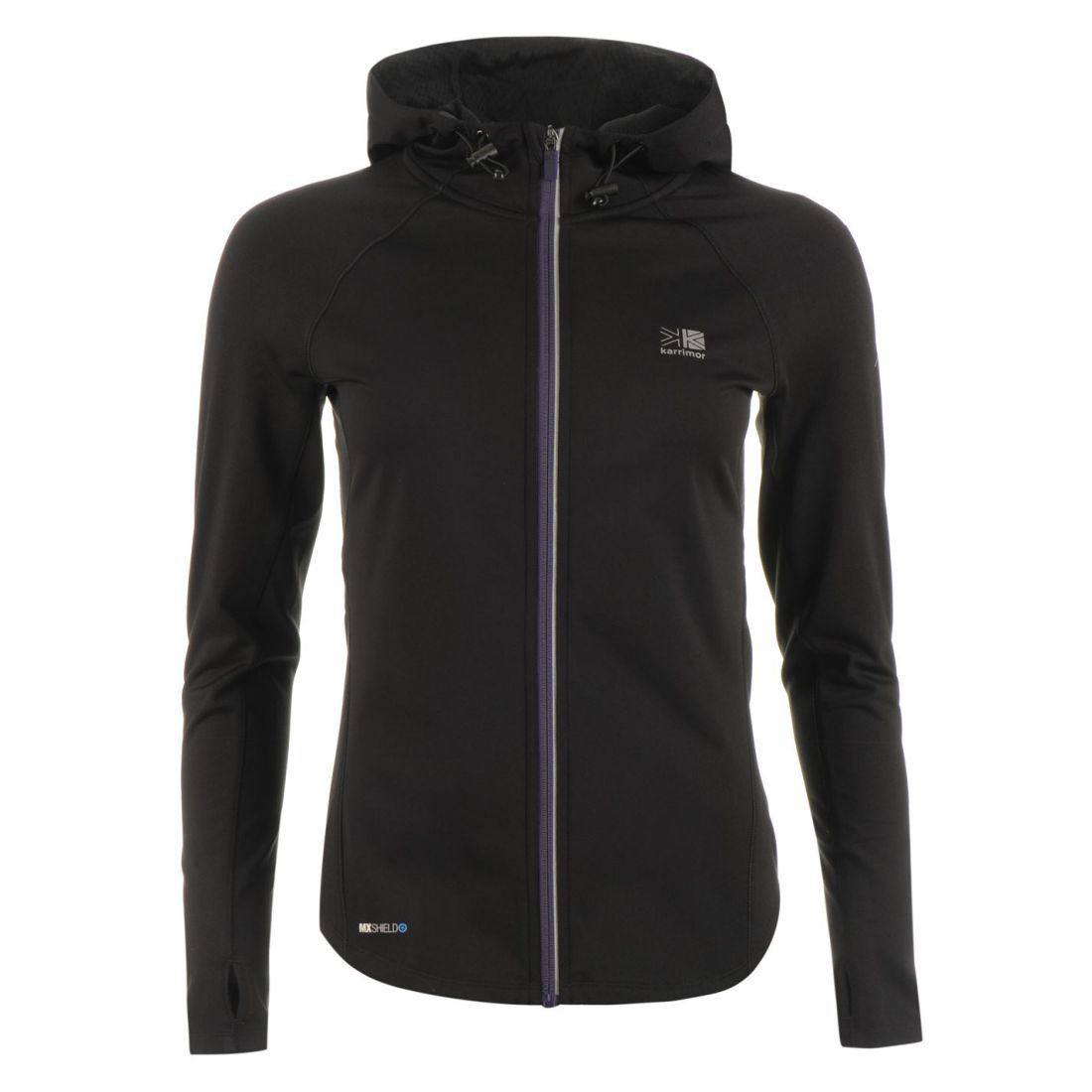 Langærmet Womens Karrimor Running Xlite Coat Performance Mxshield Top Jacket rFq8rw