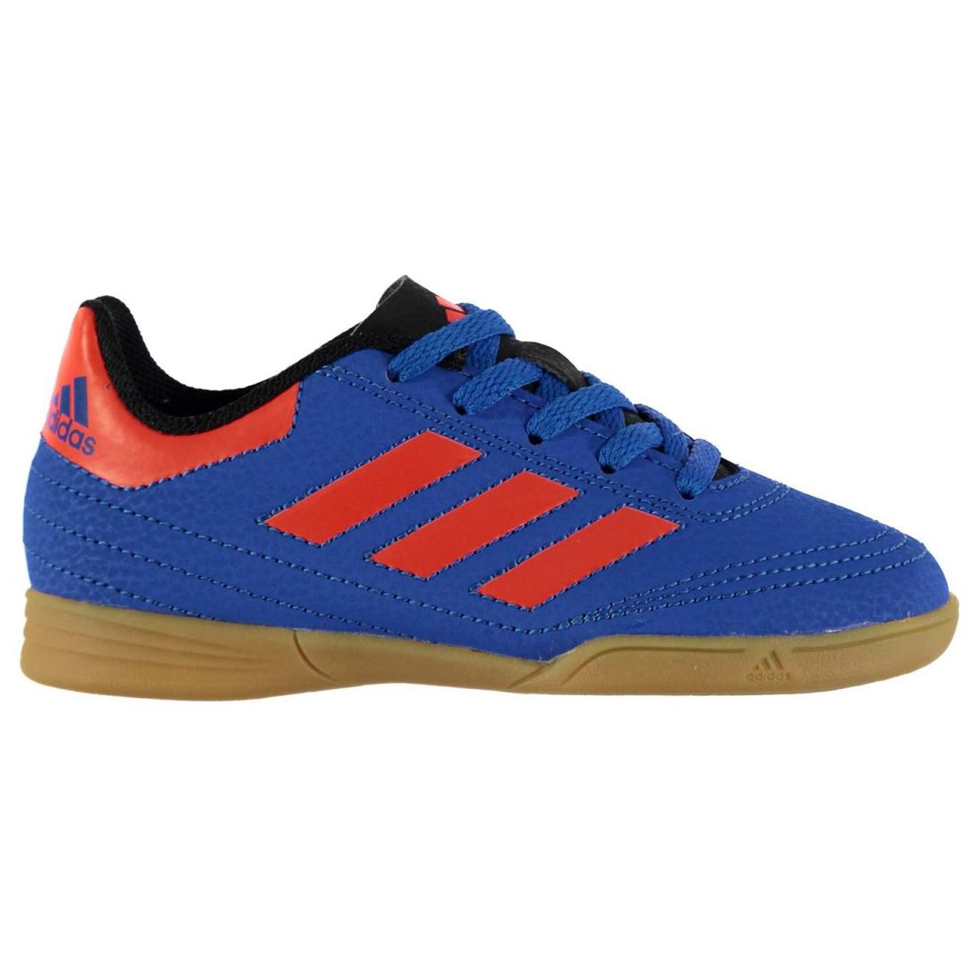 Details about adidas Kids Goletto Indoor Court Trainers Lace Up Football Sports Shoes