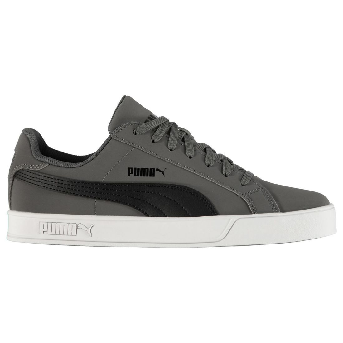 PUMA Smash Vulc Men s SNEAKERS Shoes 359622 07 Grey UK 9 for sale ... f25a320b6