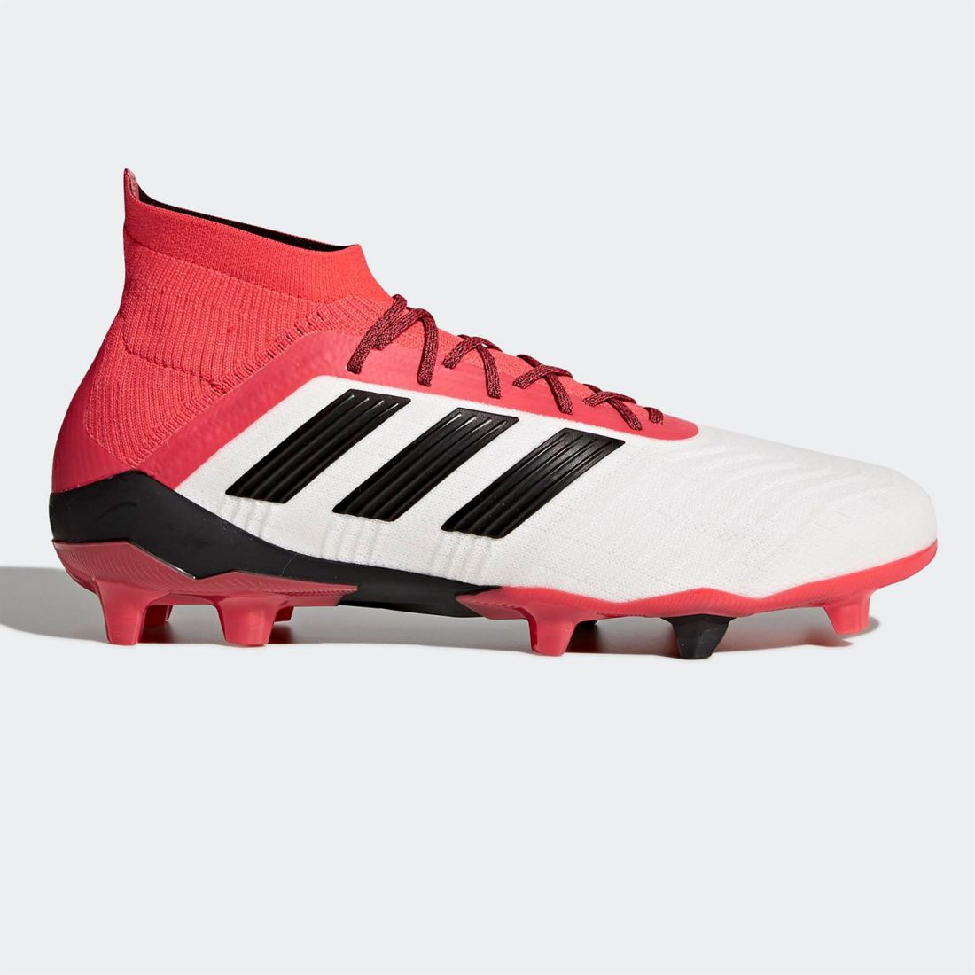 Adidas Mens Predator 18.1 FG Football Boots Firm Ground Lace Up Lightweight