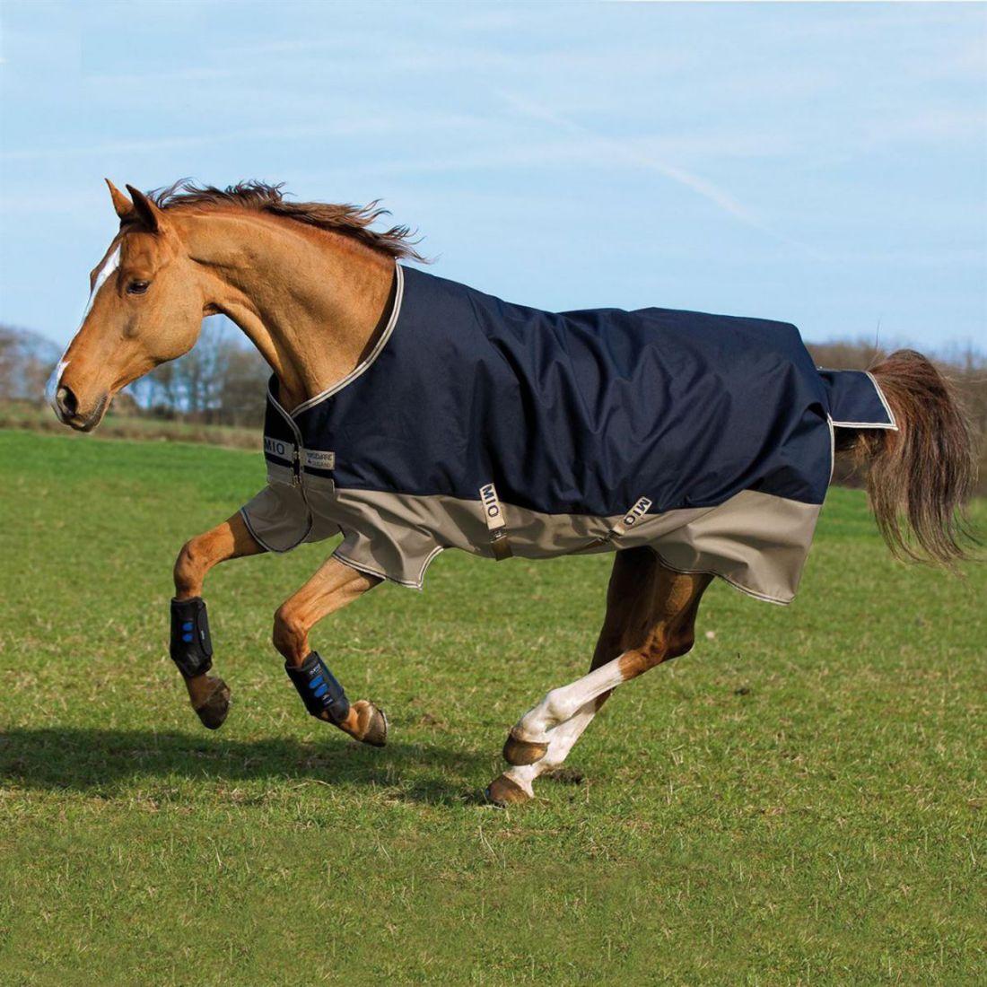 Mio Turnout Medium Unisex Horse Rug Water Repellent Ventilated Classic Shine
