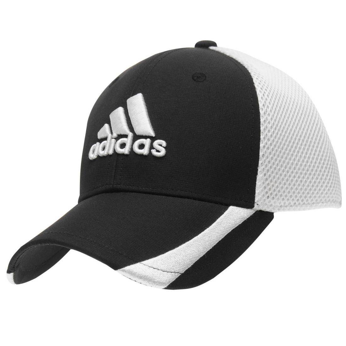 5ab1e6d3c5075 adidas Mens Tour RDR Cap Golf Breathable Mesh Stretch Breathability ...