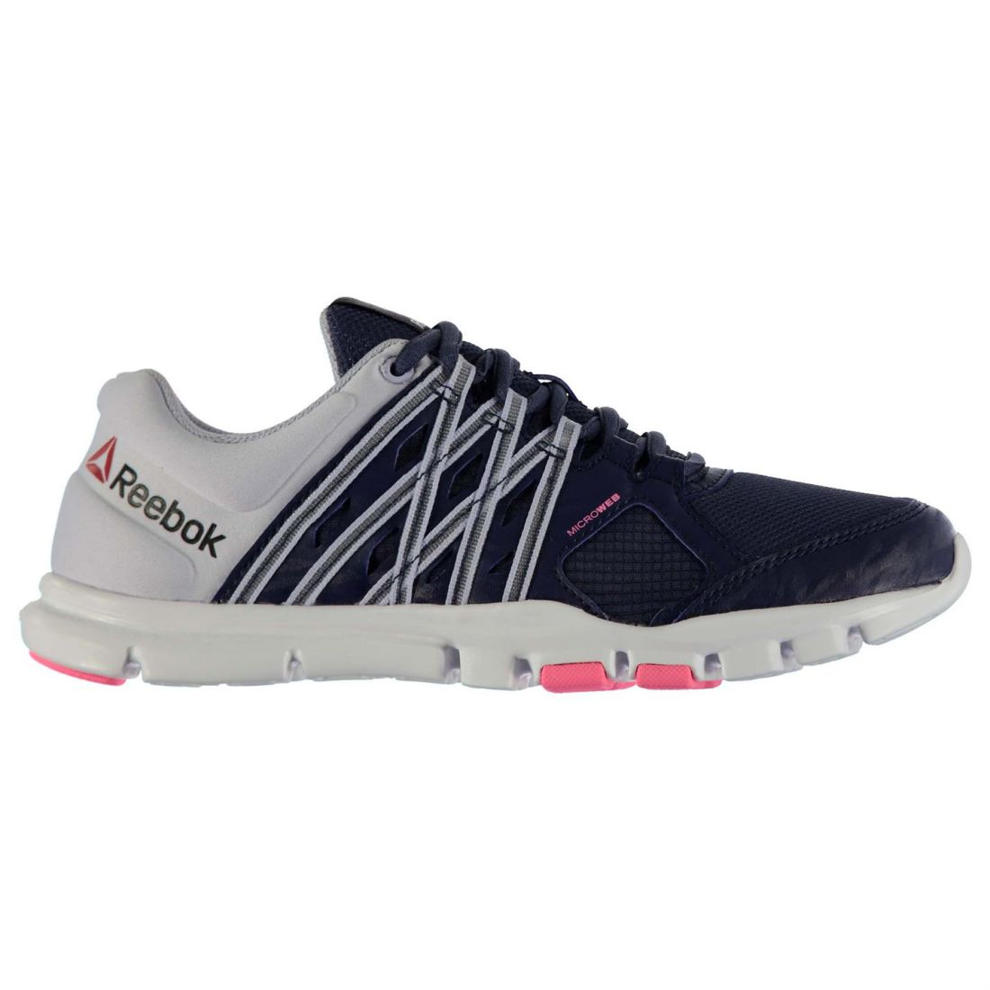 1c8039a6a61 2 di 7 Reebok Ladies Yourflex Train Sneakers Trainers Breathable Shoes  Lightweight