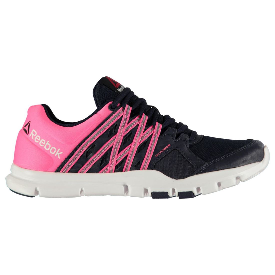 0ea9402e917 Reebok Ladies Yourflex Train SNEAKERS Trainers Breathable Shoes ...