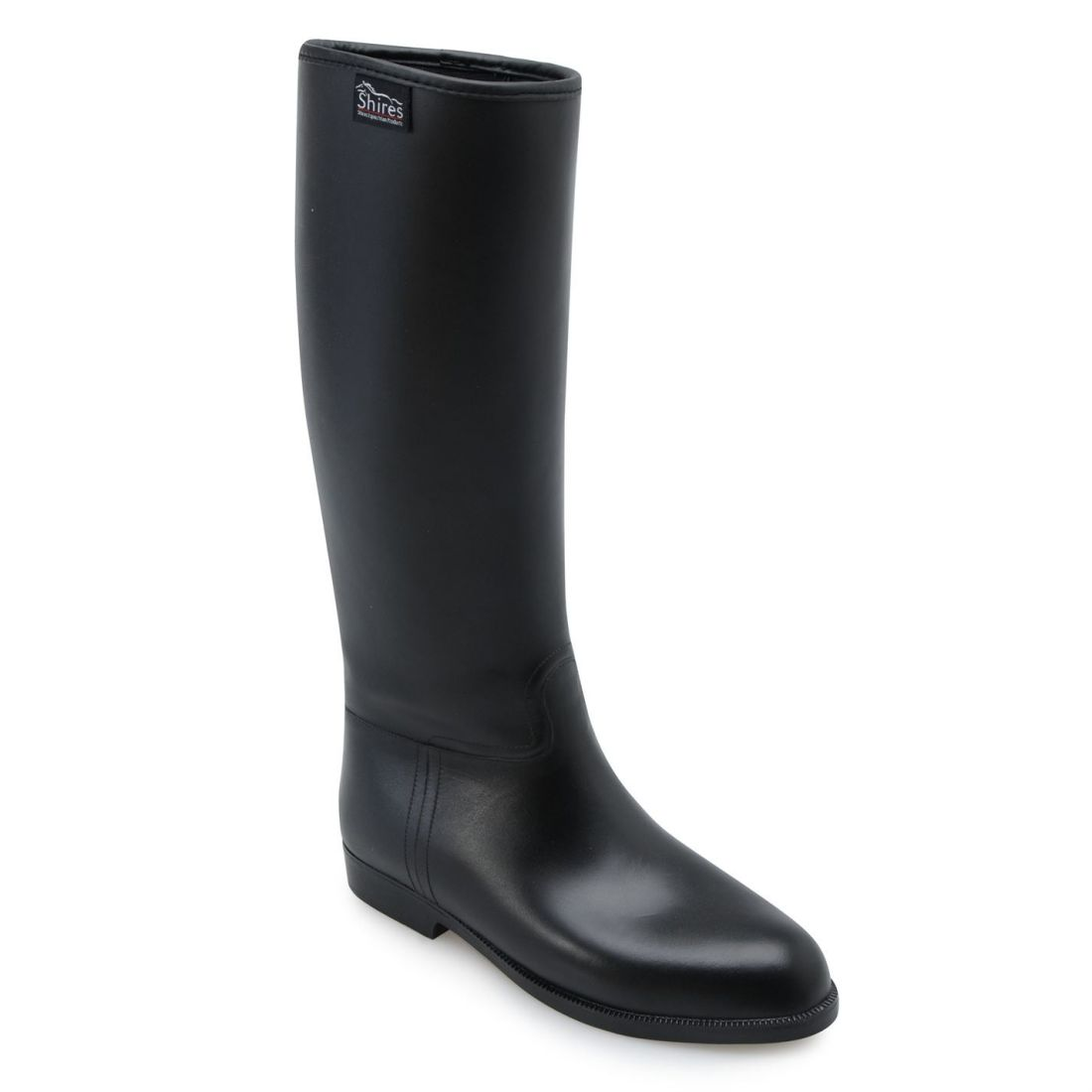 Rubber Gents Hombre Riding Long Jodhpur Pull Boots Shires Negro On dpq4wUd