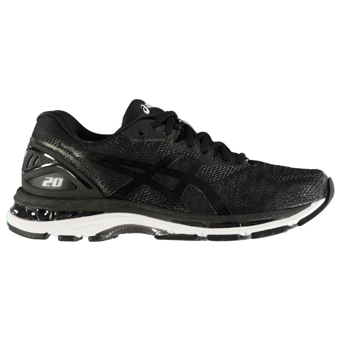 b2f87dad8cb0 Asics Mens Gel Nimbus 20 Running Shoes Road Lightweight Ortholite