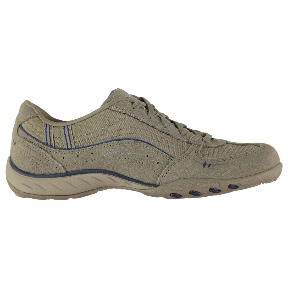 Skechers Act Just Relax Womens Shoes Overlay Laces Fastened Footwear | eBay