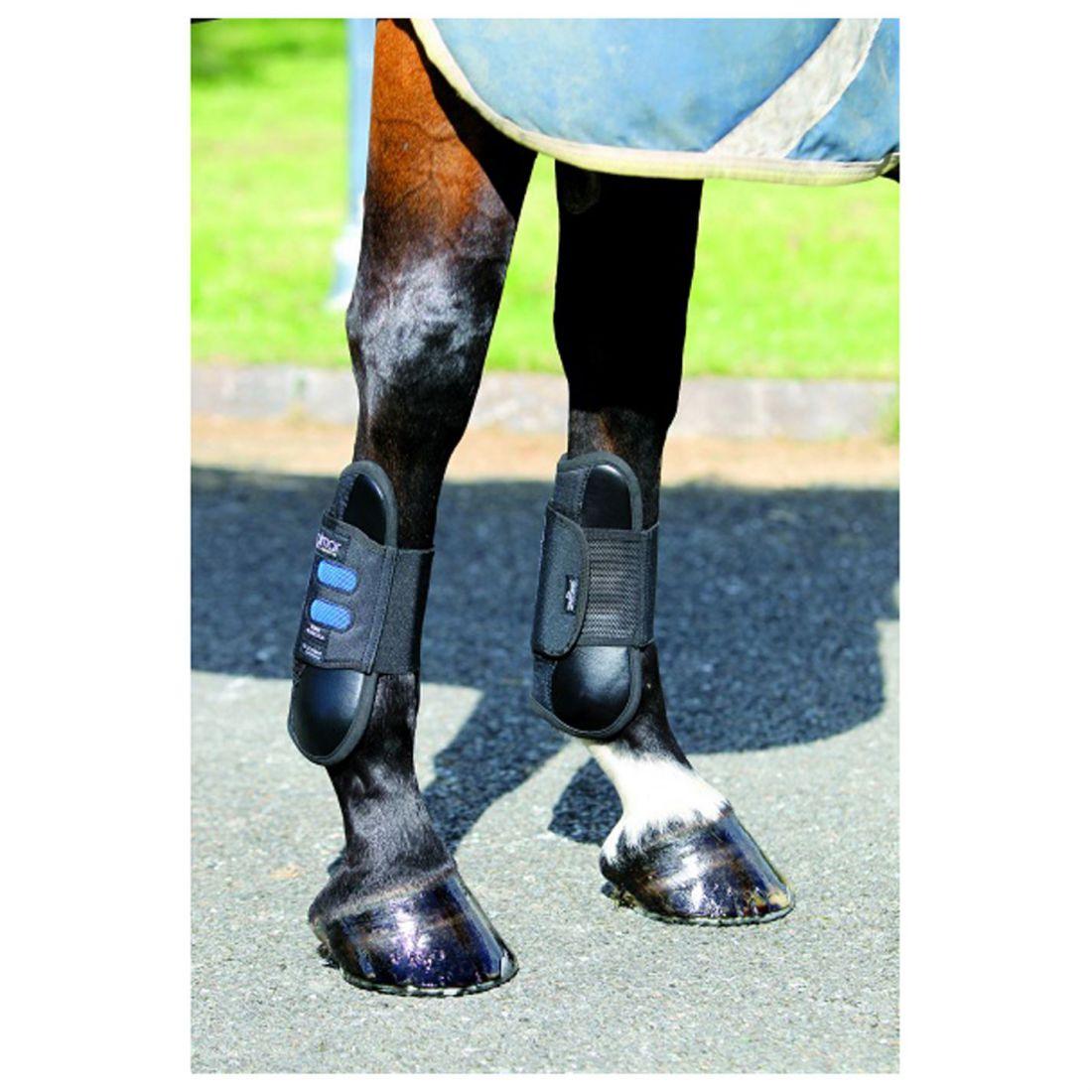 Dalmar Unisex SJ Open Front Tendon Boot Horse Legwear Lightweight Polycarbonate