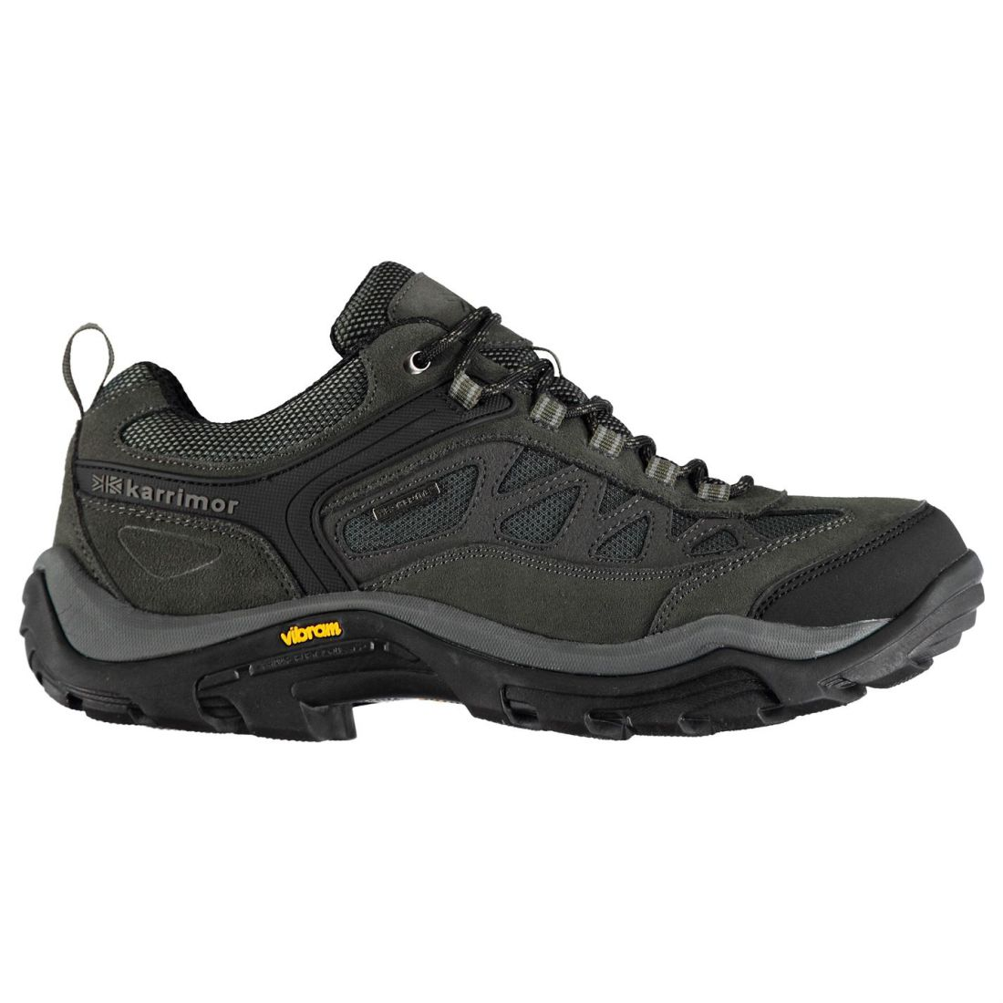 Walking Aspen Repellent Gents Mens Karrimor Water Laces Low Shoes Charcoal Fastened UwfqPaE