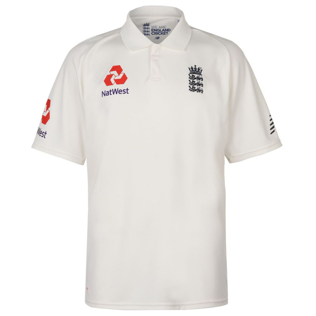 c4fd5de9afccd Details about New Balance England Cricket Test Shirt 2018 2019 Mens Gents T  Tee Top Short