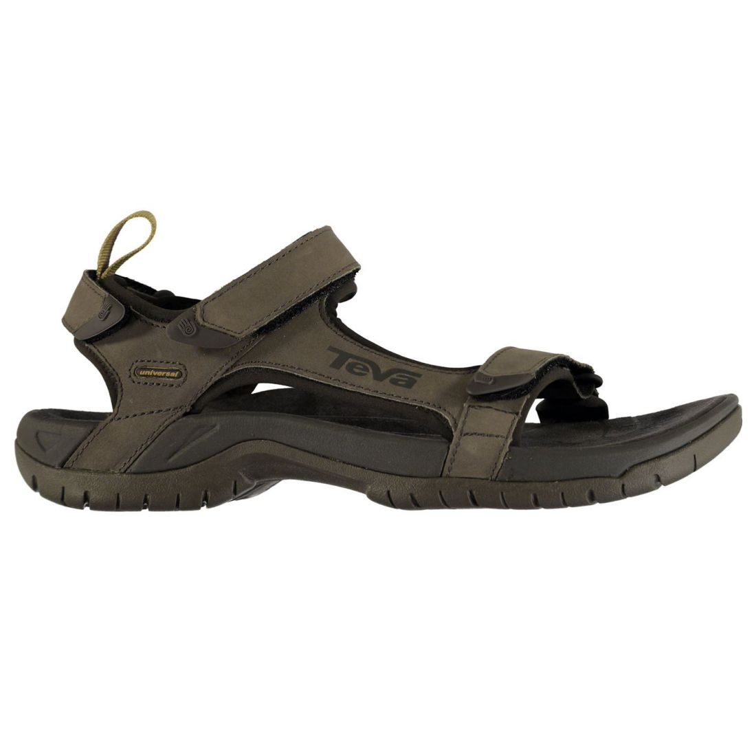 3425c5b530e1 Teva Tanza Leather Sandals Mens Gents Strap Touch and Close Summer ...