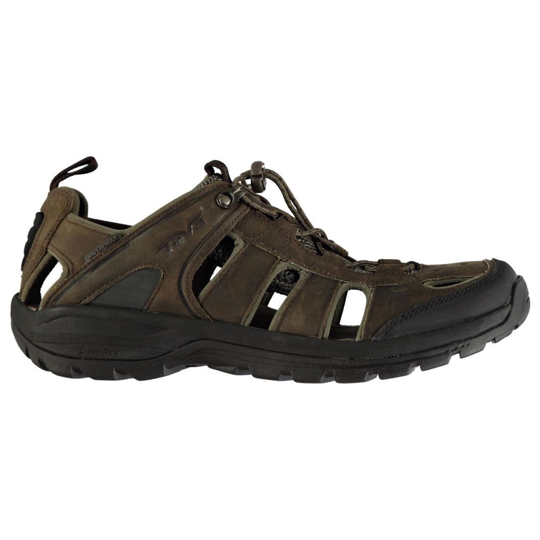 50445c662cbb Image is loading Teva-Mens-Kimtah-Leather-Walking-Sandals-Hiking-Trekking-