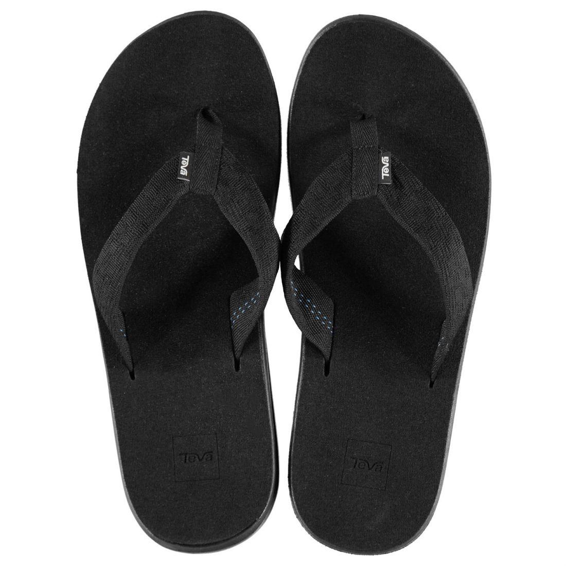 Teva Voya Flip Flops Mens Gents Sandals Lightweight Strap Toe Post Summer