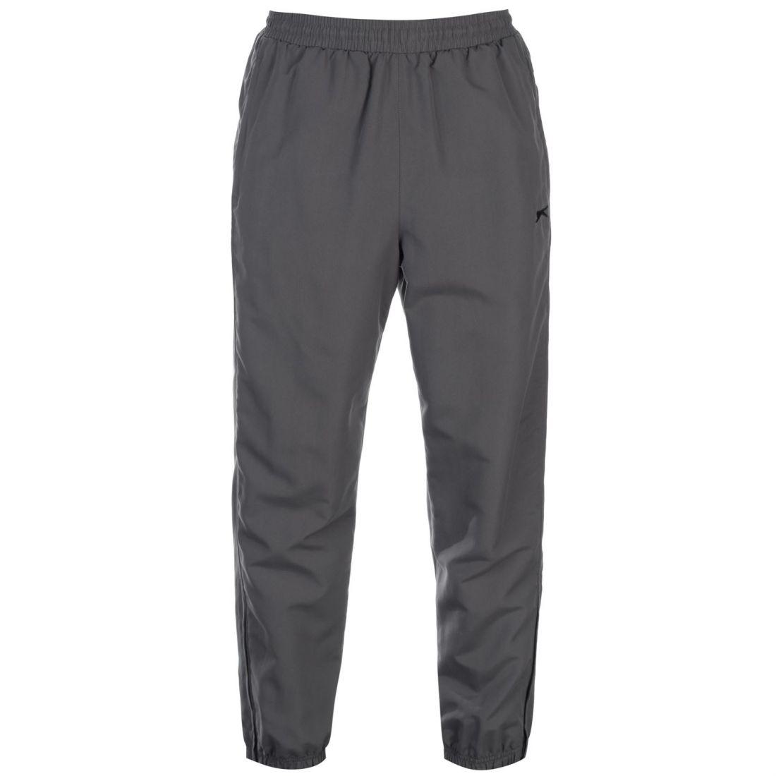 0dfa2d45f841 Slazenger Mens Closed Hem Woven Pants Jogging Bottoms Joggers ...