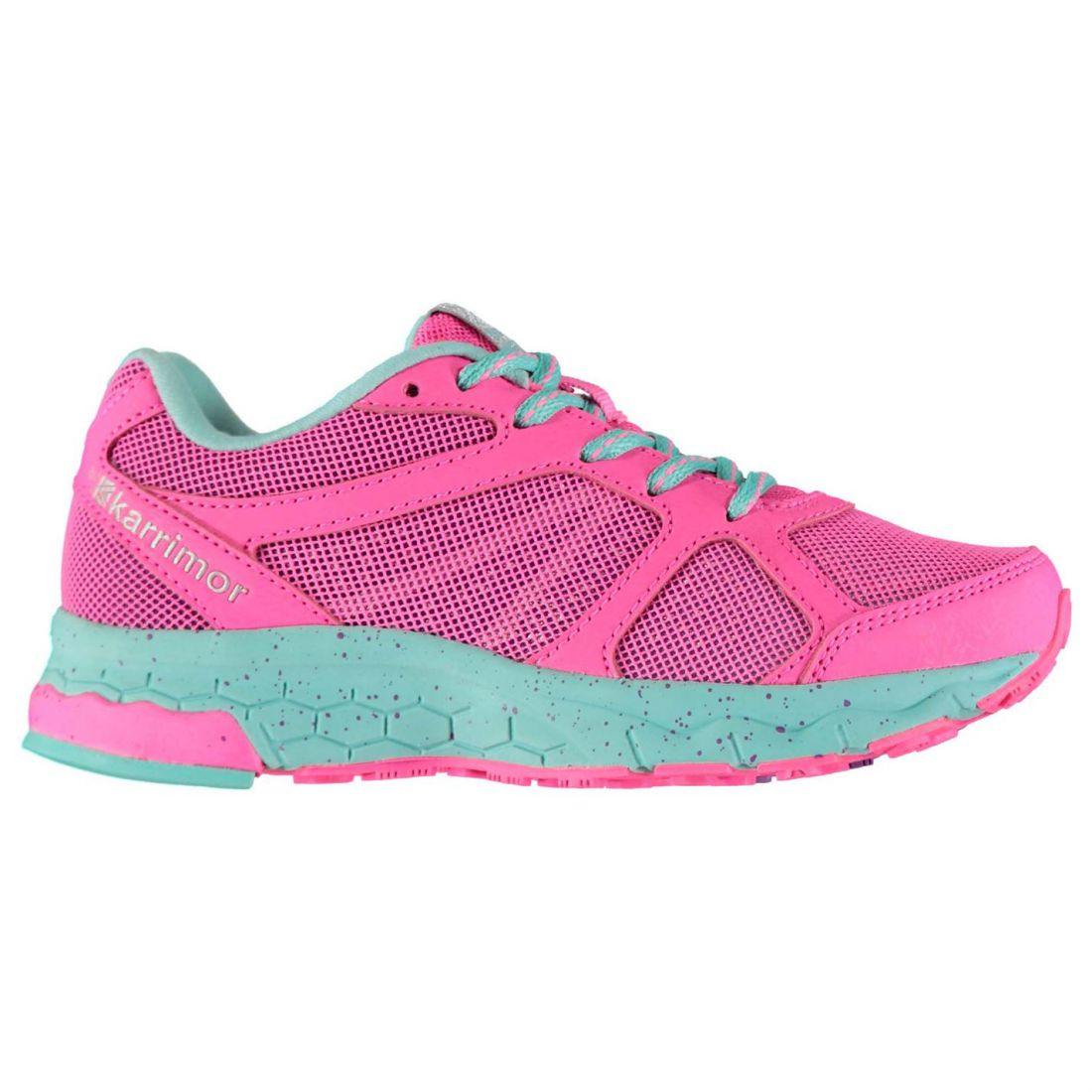 59b05d2ee63986 Karrimor Kids Girls Tempo 5 Road Running Shoes Runners Lace Up ...