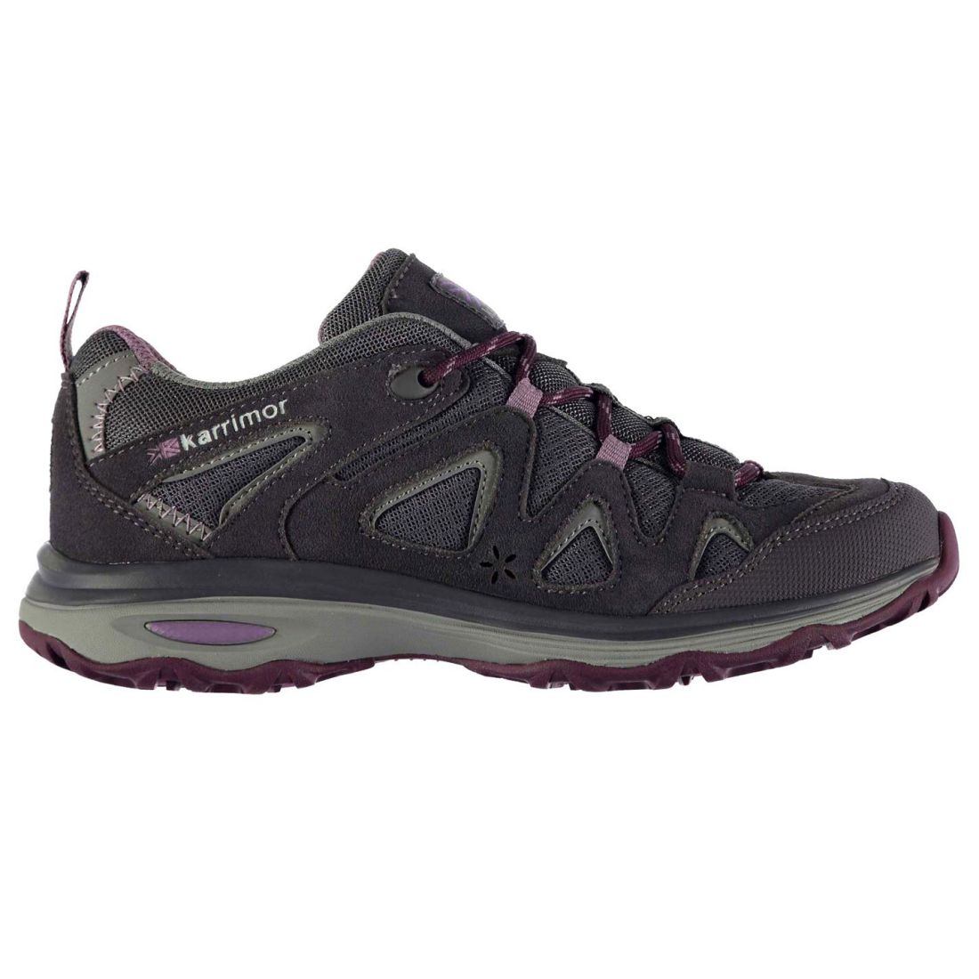 Details about Karrimor Womens Border Shoes Reinforced Outdoor Walking  Trekking Hiking 3510a1b8aaa6f