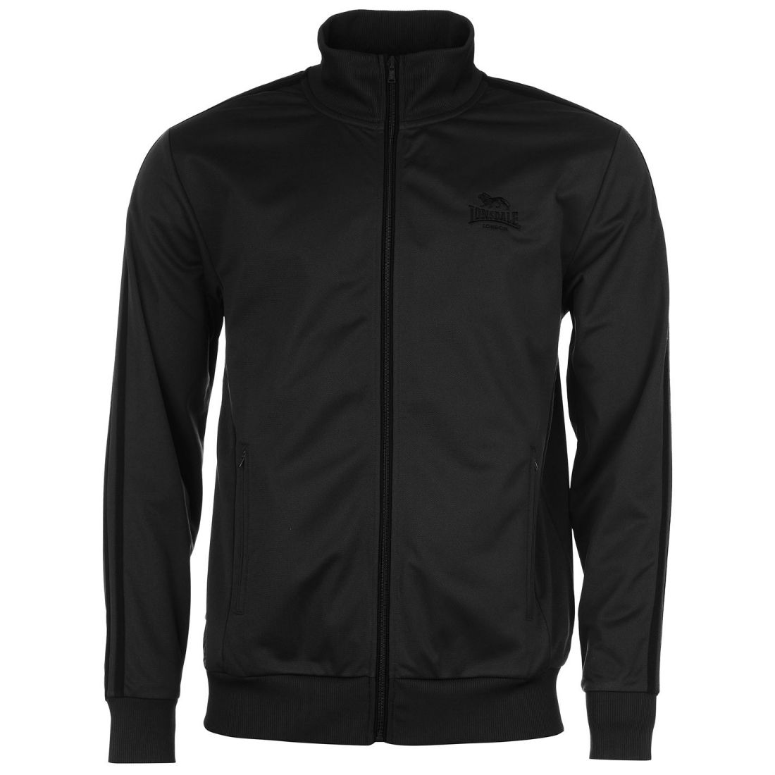 Lonsdale-Mens-Gents-Track-Jacket-Zipped-High-Neck-Sports-Top-Clothing