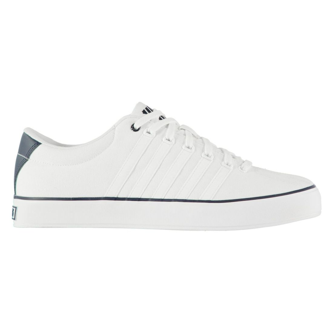 630261cac68 K Swiss Court Pro Vulc Sneakers Mens Gents Laces Fastened Padded ...