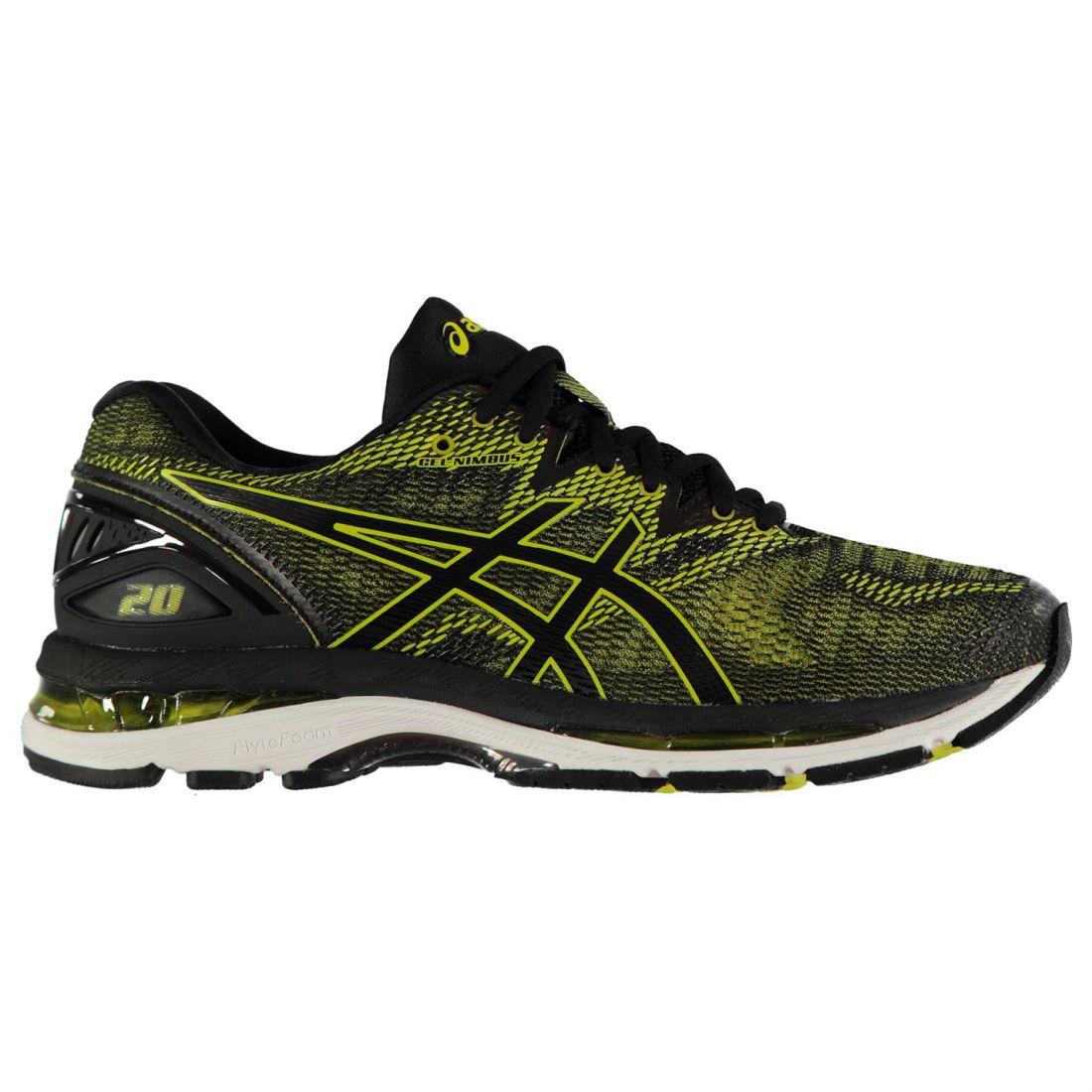 Asics Nimbus 20 Running shoes Mens Gents Road Lightweight Mesh Upper Stamp