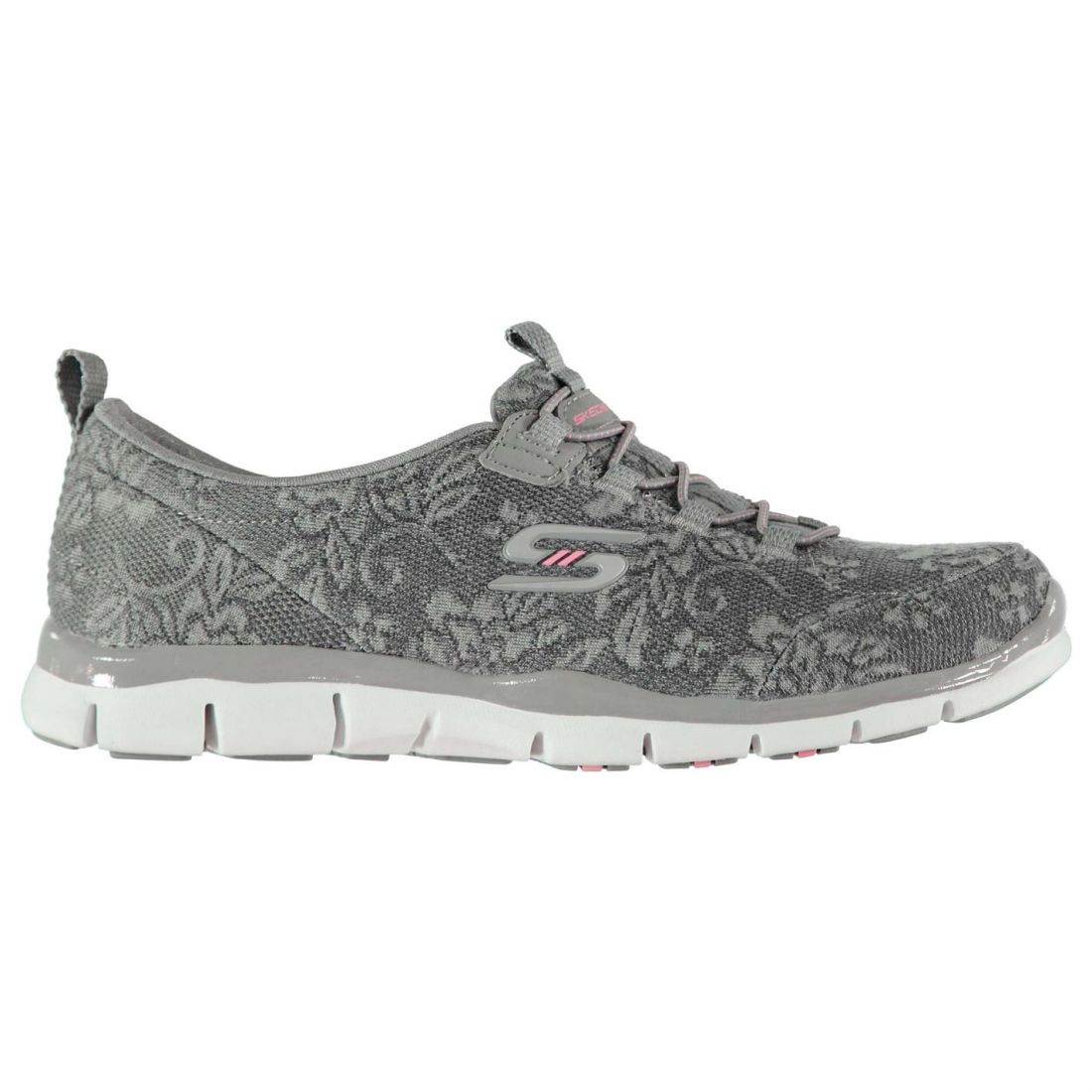 Skechers Womens Gratis Lace Trainers Runners Elasticated Laces Lightweight
