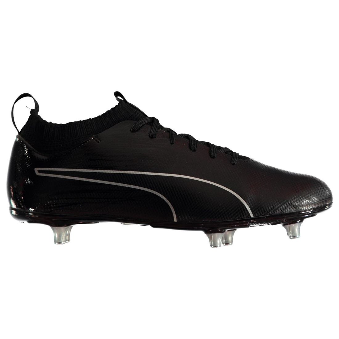 Details about Puma Mens EvoKnit SG Football Boots Soft Ground Lace Up Studs  Knit Textured 268a4bc57